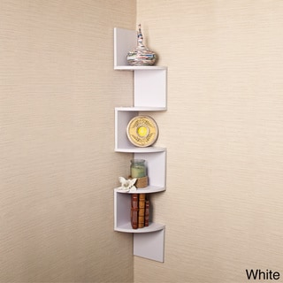 Veneer Corner Wall Mount Shelf