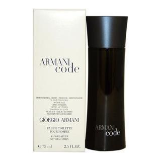 Giorgio Armani Code Men's 2.5-ounce Eau de Toilette Spray (Tester)
