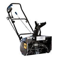 Snow Joe Electric Snow Thrower with Light - Black