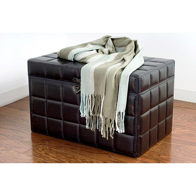 Rizzy Home Striped Heavy Weave Throw - Thumbnail 0