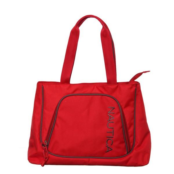 Nautica Steward Red / Grey Boat Tote Bag