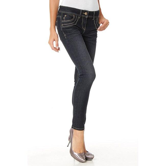 MDZ Women's Marissa Dark Skinny Jeans