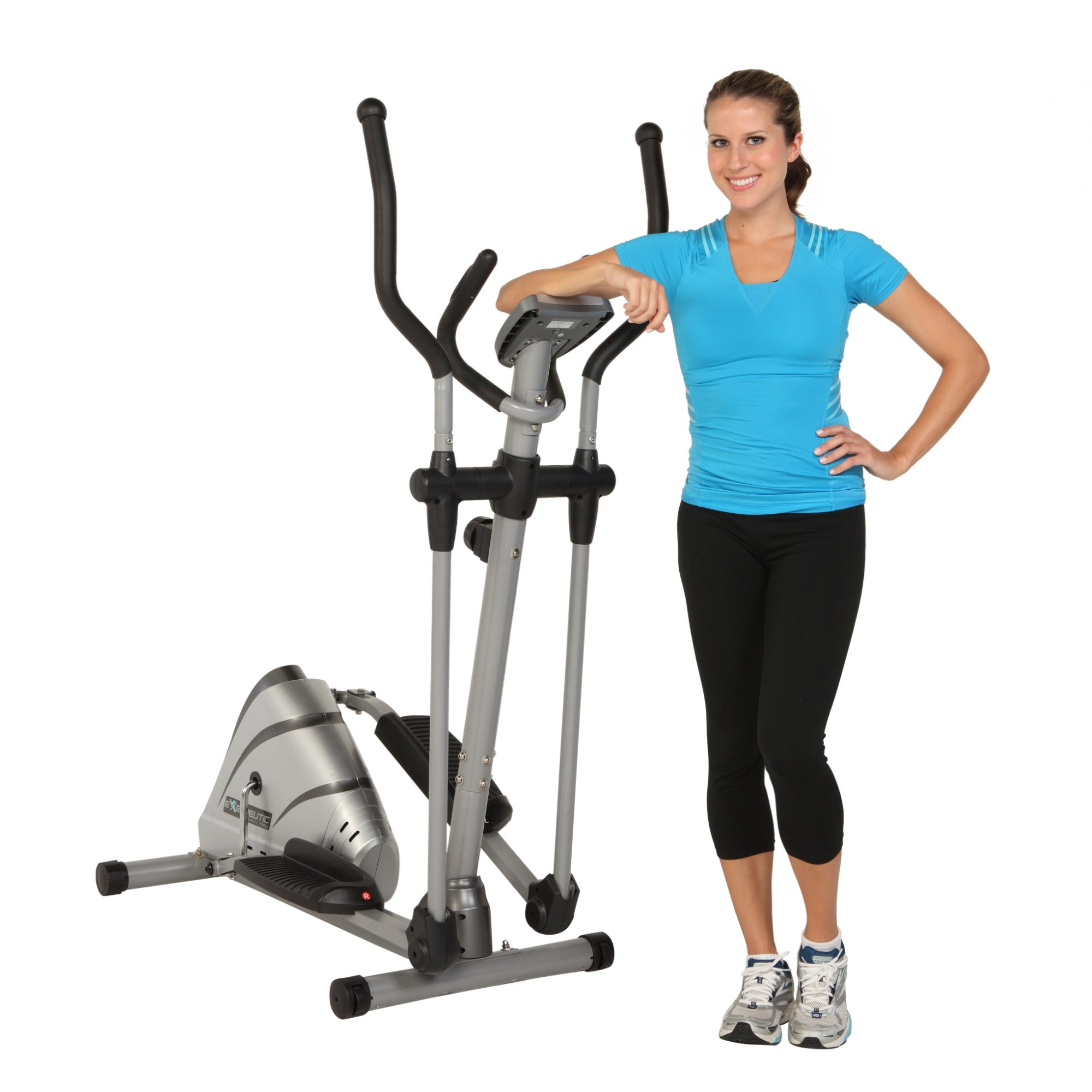 Exerpeutic 325 High Capacity Magnetic Elliptical with Pul...