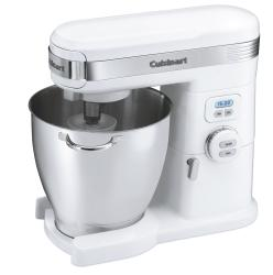 Cuisinart Quart 12-Speed White Stand Mixer - Thumbnail 1
