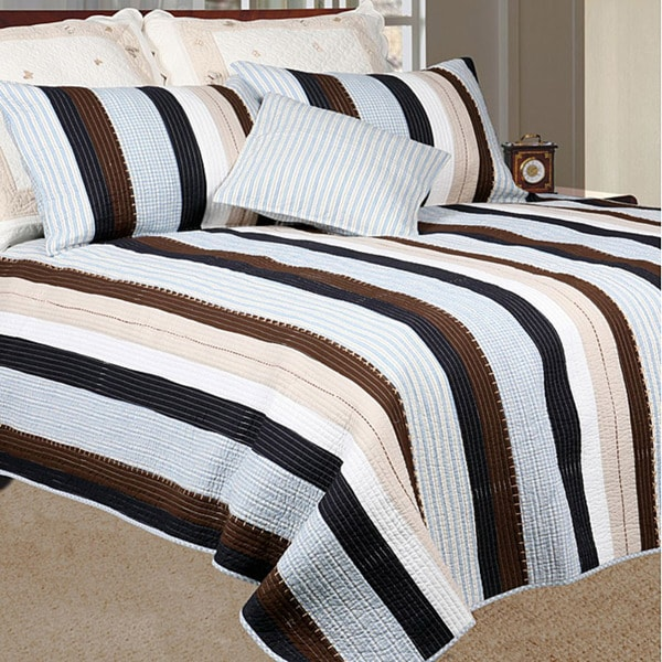 Nathan Full/ Queen-size Quilt Set