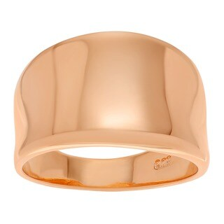 Journee Collection Concave Statement Ring (More options available)