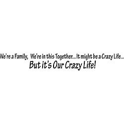 Design on Style 'We're A Family' Vinyl Wall Art Quote