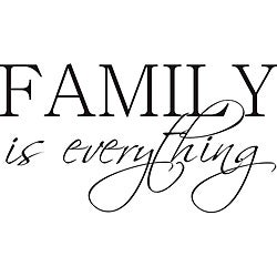 Design on Style 'Family is Everything' Vinyl Art Quote