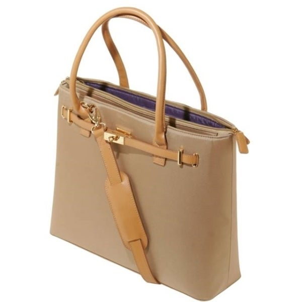 """WIB Thoroughbred WIB-EURO2 Carrying Case for 15.6"""" Notebook - Tan"""