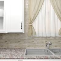 SomerTile 11.75x12-inch Reflections Piano Sahara Glass and Stone Mosaic Wall Tile (10 tiles/9.8 sqft.)