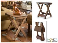 Cedar Wood '6th Avenue Guatemala' Foldable Table (Guatemala)