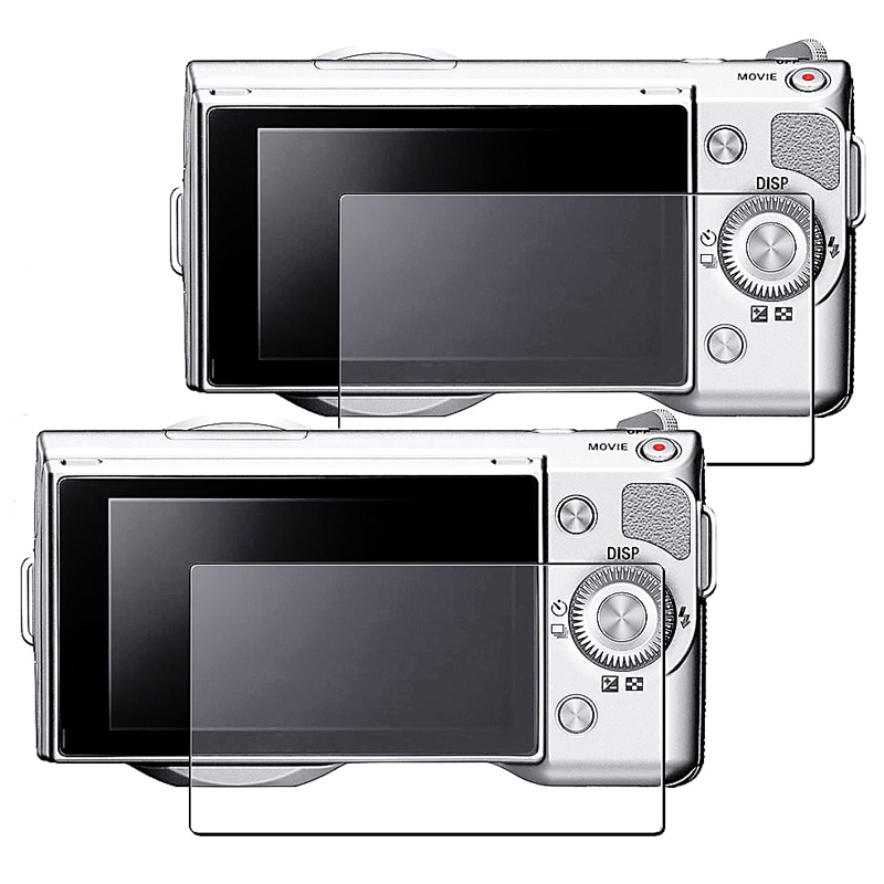 Anti-Glare Screen Protector for Sony Alpha NEX 3/ NEX 5 (Pack of 2)