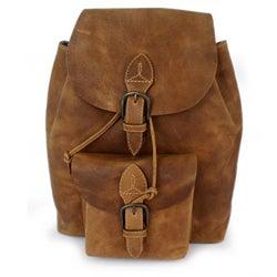Cotton Blend 'Sublime Brown' Medium Shoulder Bag (Thailand)