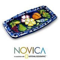 Ceramic 'Abundance' Spoon Rest (El Salvador)