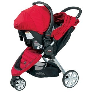 Britax B-Agile Travel System in Red