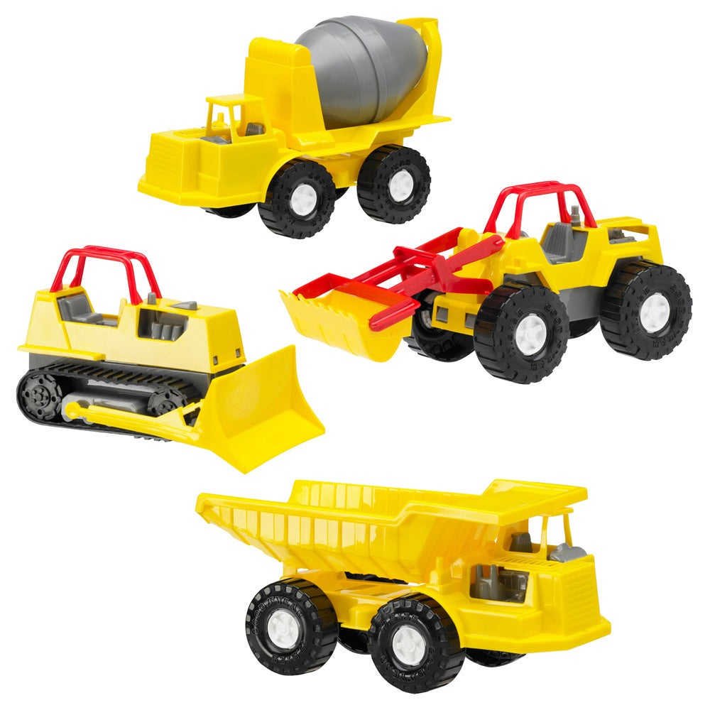 American Plastic Toys Construction Vehicles (case of 16) ...