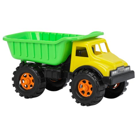 "American Plastic Toys 16"" Dump Truck Vehicle (Case of 6)"