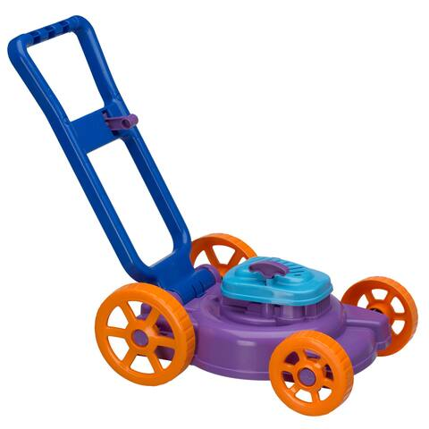 American Plastic Toys Kids Nesting Lawn Mower Toys (Pack of 4)