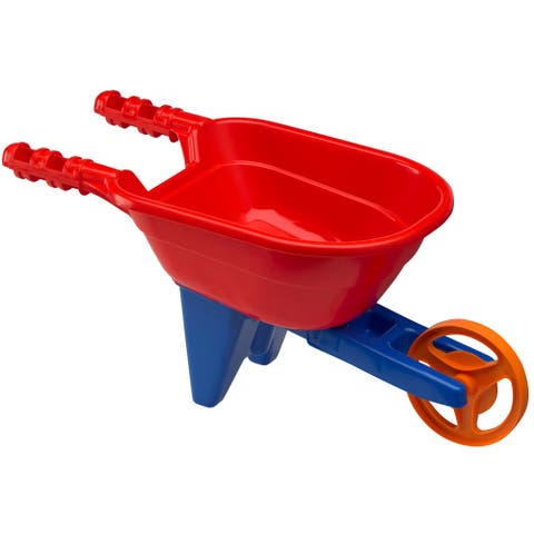 American Plastic Toys Kid's Yard Wheelbarrow (Pack of 4)