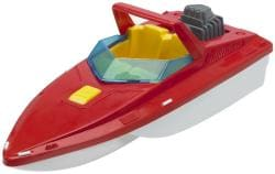 American Plastic Toys Deluxe Boat Assortment Toys Set (Case of 10) - Thumbnail 2