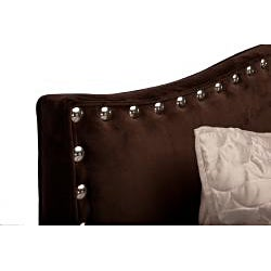 JAR Designs 'The Betty' California King-size Chocolate Bed - Thumbnail 1
