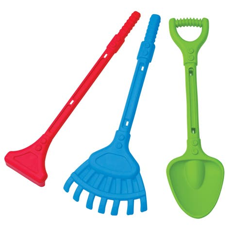 American Plastic Toys Deluxe Garden Tools 28-inch Toy Set (Pack of 12)