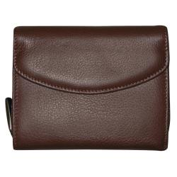 Dopp 'Roma' Leather Double-zip Card Holder Wallet - Thumbnail 2