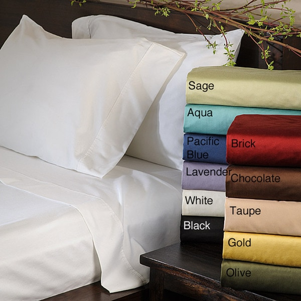 Corsica Elegant 600-thread-count Cotton Sheet Set (Set of Four)