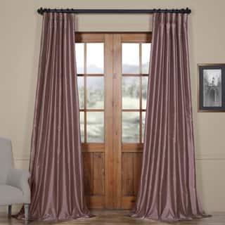 EFF Smoky Plum Vintage Faux Dupioni Silk Curtain Panel https://ak1.ostkcdn.com/images/products/6298062/P13928871.jpg?impolicy=medium