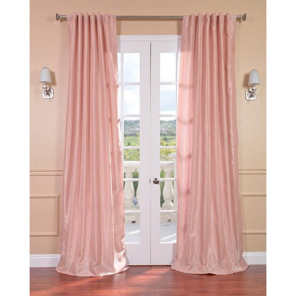 Exclusive Fabrics Blush Rose Vintage Faux Textured Dupioni