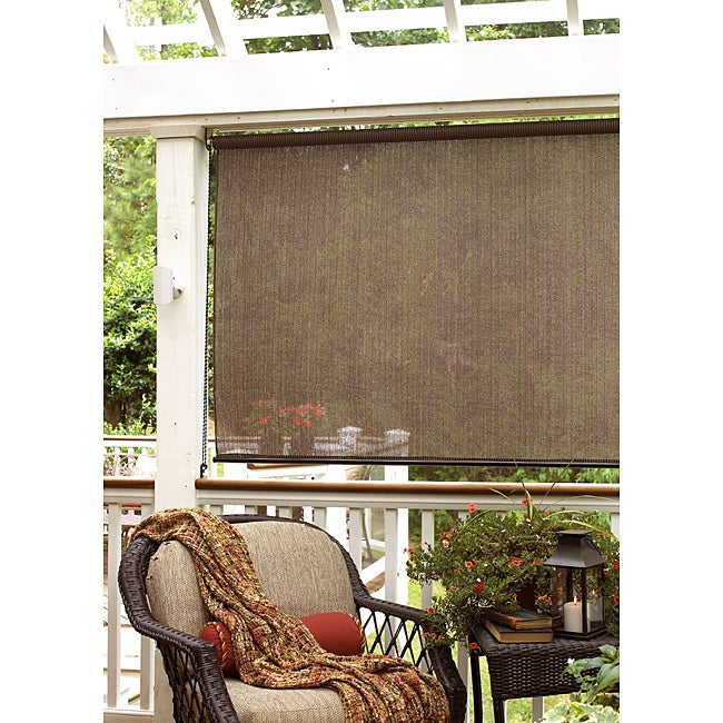 SONOMA Baja 72-inch Cocoa Outdoor Shade, Brown, Size 72 x...