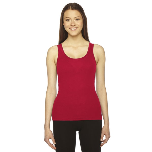 American Apparel Women's Cotton Ribbed Beater Tank