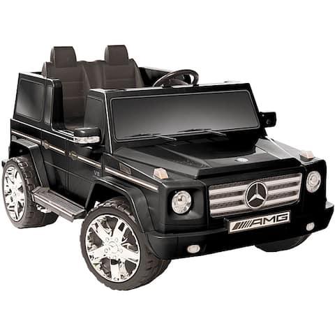 Kid Motorz Black 12V Mercedes Benz G55 AMG Ride-on