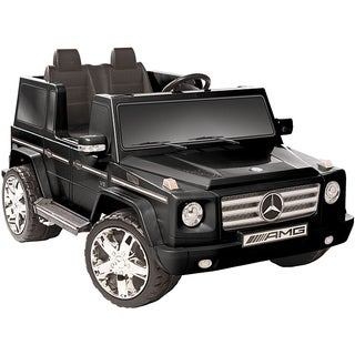 Kid Motorz Black 12V Mercedes Benz G55 AMG Ride-on