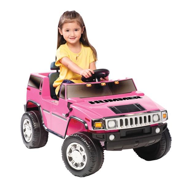 Pink Hummer H2 Ride-on