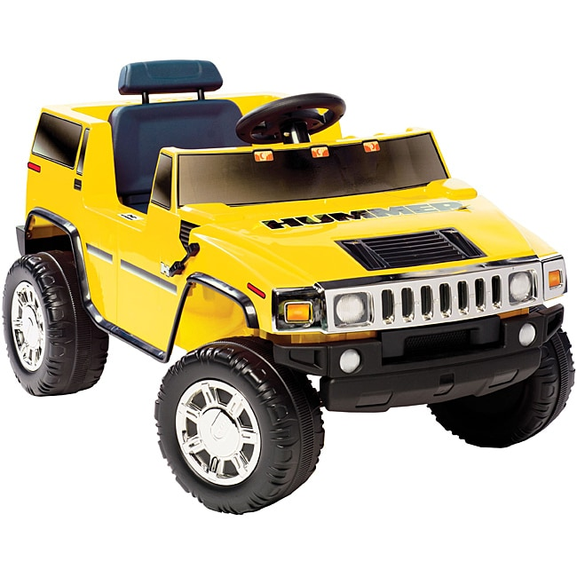 NATIONAL PRODUCTS LTD. Yellow Hummer H2 Ride-on (Hummer H...