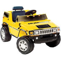 Yellow Hummer H2 Ride-on