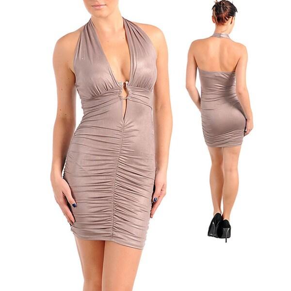 Stanzino Women's Coffee Evening Wear Dress