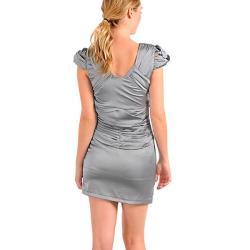 Stanzino Women's Silver Party Dress