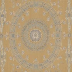 Hand-knotted French Aubusson Weave Gold Beige Wool Rug (12' x 18') - Thumbnail 2