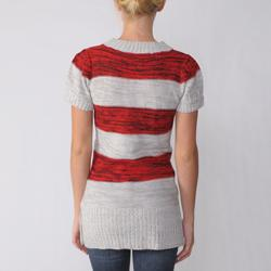 Ci Sono by Adi Juniors Striped Sweater - Thumbnail 1