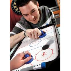 Lovely ... The Black Series Table Top Air Hockey Game ...