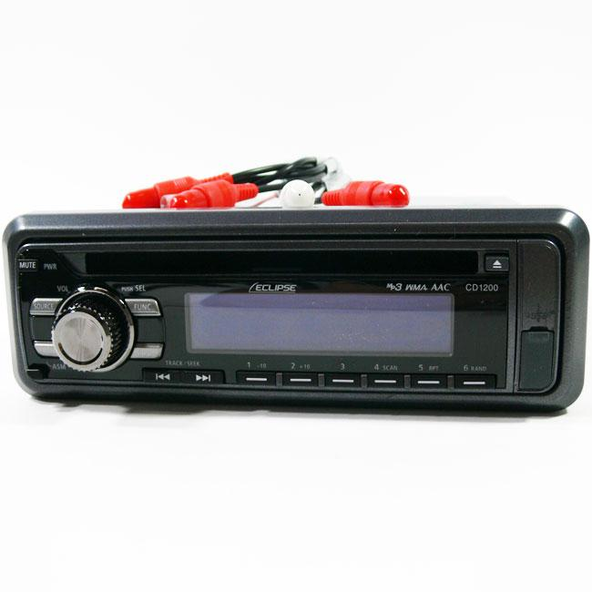 Eclipse CD1200 Receiver Car Stereo (Refurbished)