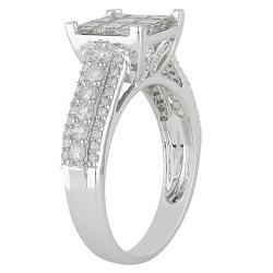 14k White Gold 1 1/2ct TDW Diamond  Ring (H-I, I2-I3)