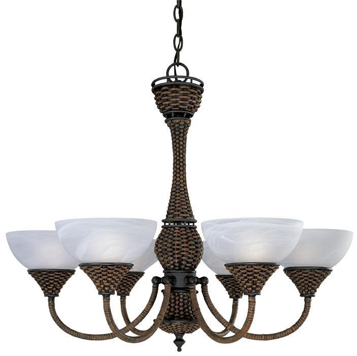 Shop West Indies Bronze Chandelier Free Shipping Today