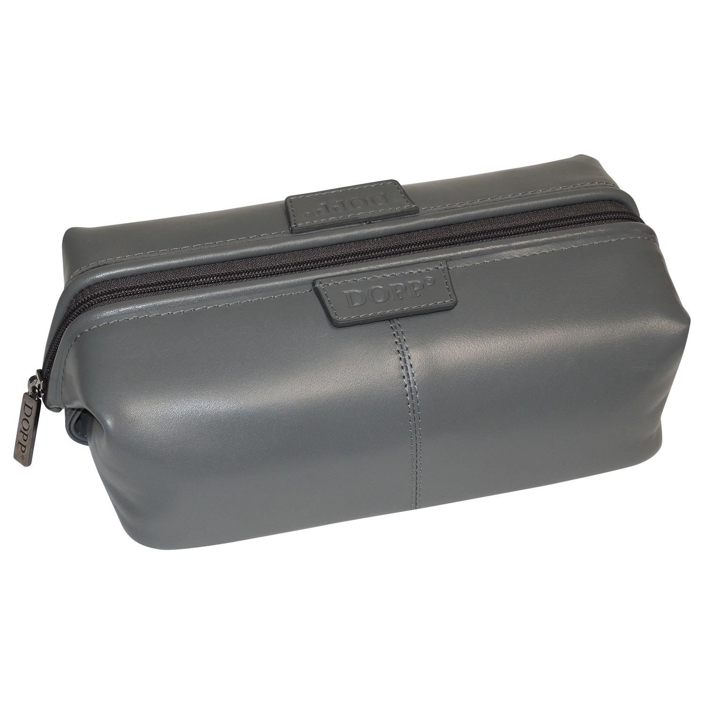 Dopp Veneto Traditional Framed Toiletry Bag (Grey)