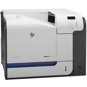 HP LaserJet M551N Laser Printer - Color - 1200 x 1200 dpi Print - Pla
