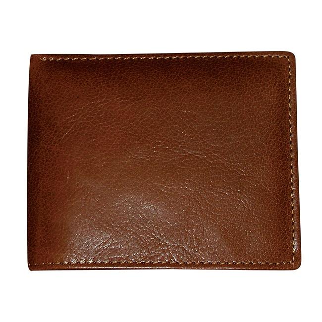 Dopp Men's Mahogany Convertible Bi-fold Wallet