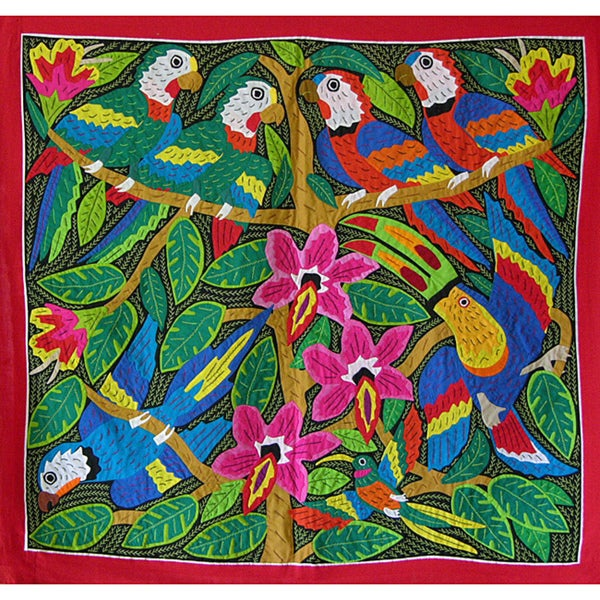 'Tropical Beauty' Tapestry (Panama)