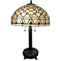 Cleo 1-light Tiffany-style 16-inch Table Lamp